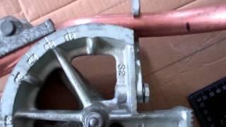 HVAC Copper Tube Bending