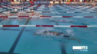 Lilly King Pushes To Win Women's 50m Breaststroke | Summer Champions Series