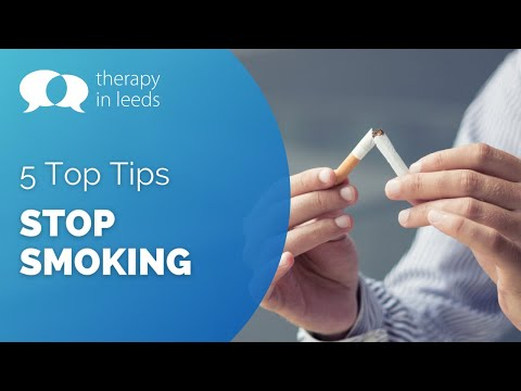 5 Top Tips to Stop Smoking