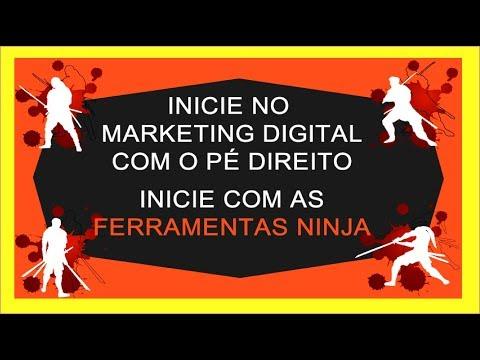 Ferramentas Ninja do Marketing Digital