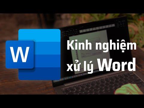 video chia se 5 meo xu ly van ban microsoft word cung tinhte.vn