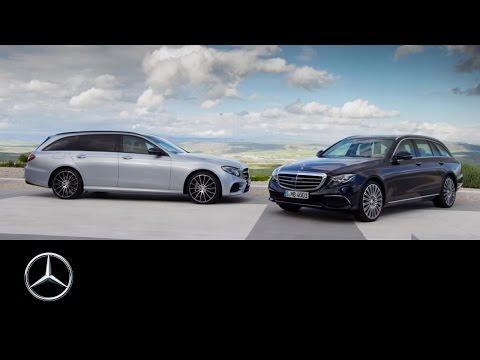 Mercedesbenz E Class Wagon Универсал класса E - рекламное видео 1