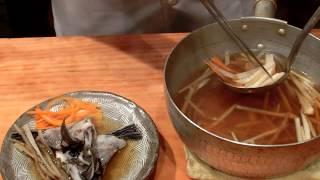《石鯛のカマの沢煮》・・・・大和の 和の料理《煮魚》