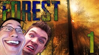 DUMB AND DUMBER | The Forest COOP w/ JackSepticEye - Part 1