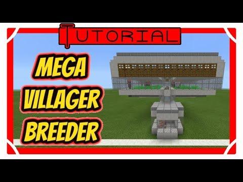 MEGA Villager Breeder Minecraft Project