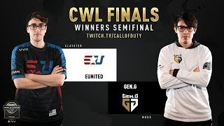 eUnited vs Gen.G | CWL Finals 2019 | Day 2