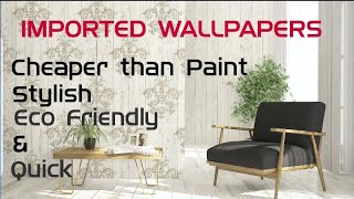 Best Quality Wallpapers | Imported Wallapeprs At Cheap Price | Homedecor & Wallpainiting Substitutes