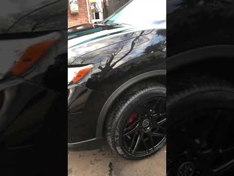"2017 nissan rogue on 20"" db3 wheels"