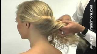 Como hacer un elegante peinado