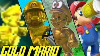 Evolution of Gold Mario (2012-2019)