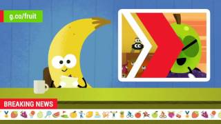 2016 Doodle Fruit Games: Grape Showjumping Newscast