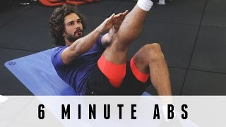 Try this quick 6 minute abs blaster after your workout today
