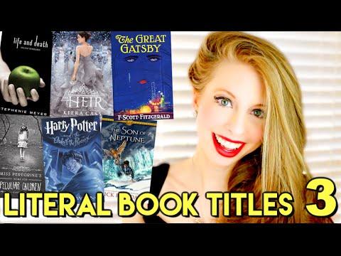 LITERAL BOOK TITLES 3