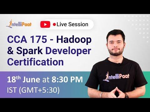 CCA 175 - Hadoop & Spark Developer Certification | Cloudera CCA ...