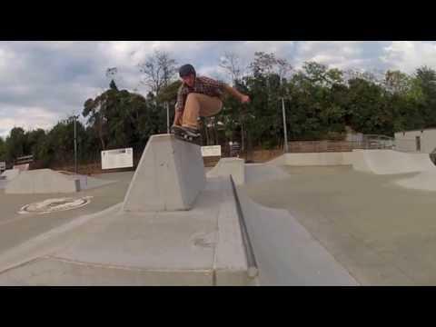 A Skateboarder in Spartanburg- Hotspot Skatepark