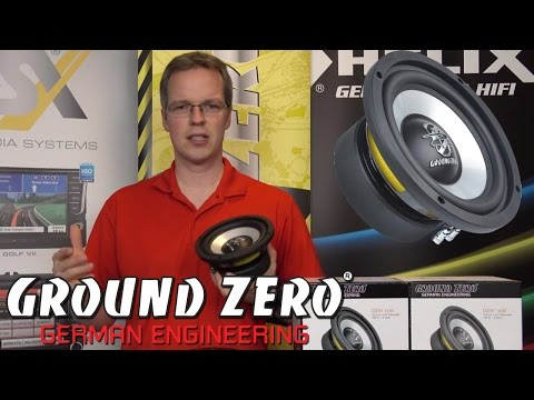Ground Zero GZIW165X - 16,5cm Auto Subwoofer Vorstellung - just-SOUND CarHifi