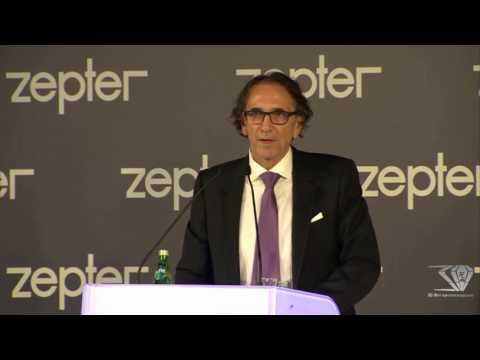 Выступление президента господина Филипа Цептера