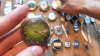 Обзор дешевых часов СССР.Оказываю помощь в оценке часов.