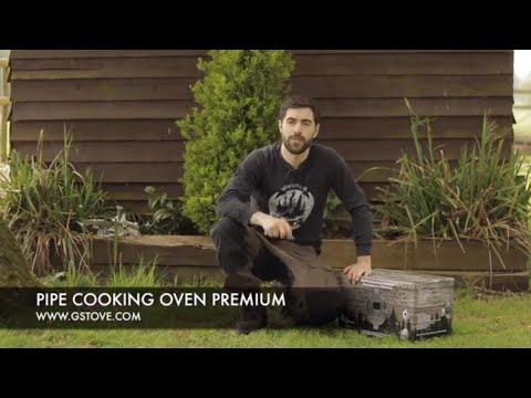 Духовка с креплением на дымоход Premium / Pipe Cooking Oven Premium