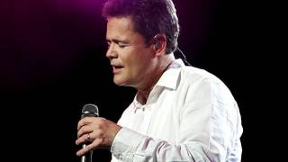 Donny Osmond Twelfth of Never 2011 GT