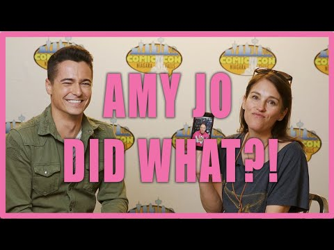 AMY JO JOHNSON answers MOST ASKED questions! (feat. David Yost)