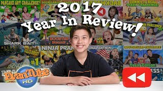LAST VIDEO OF THE YEAR!!! EvanTubeHD YouTube Rewind 2017!  Year in Review!