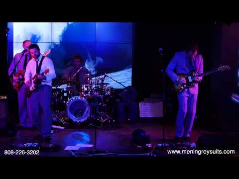 Men in Grey Suits surf band from Honolulu, Hawaii