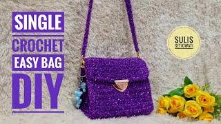 Crochet    Flur Crochet Bag  Easy