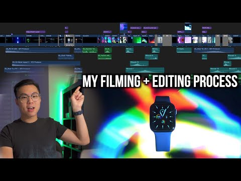 How I FILMED and EDITED a CINEMATIC Apple Watch Product Video