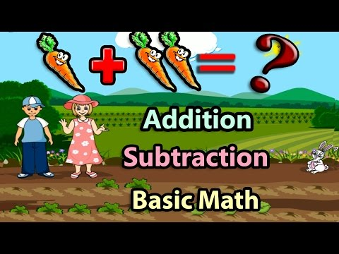 Download Basic Math For Kids: Addition and Subtraction, Science games, Preschool and Kindergarten Activities HD Mp4 3GP Video and MP3