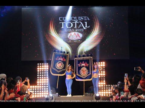 CONQUISTA TOTAL en Ciudad Madero | Lucha Libre AAA Worldwide