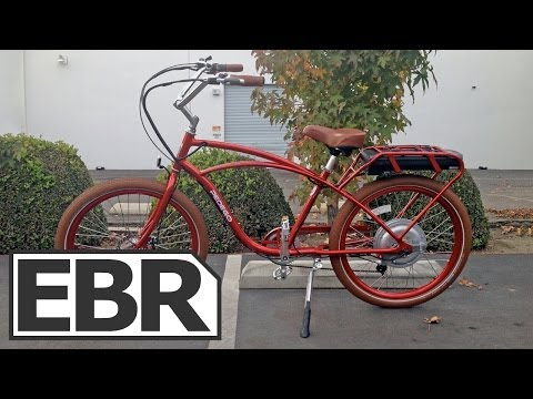 Pedego Classic Comfort Cruiser Video Review – Cruiser Electric Bike, Cantilever Frame, Strong Motor