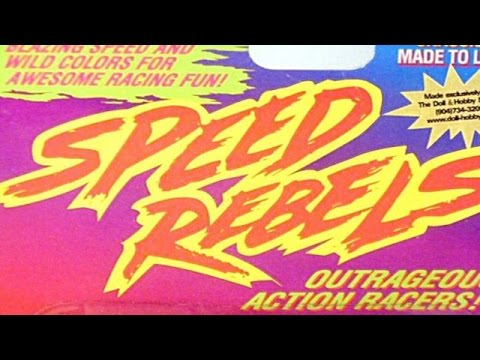 Vintage Diecast Cars! Speed Rebels Episode 511