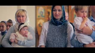 Фотосъемка и видеосъемка Крещения в храме Александра Невского Новосибирск