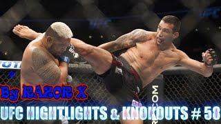 UFC HIGHTLIGHTS & KNOKOUTS # 58 MMA | САМЫЕ ЖЕСТОКИЕ НОКАУТЫ