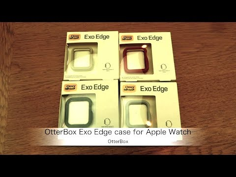 OtterBoxのApple Watch用ケース「OtterBox Exo Edge case for Apple Watch」の紹介