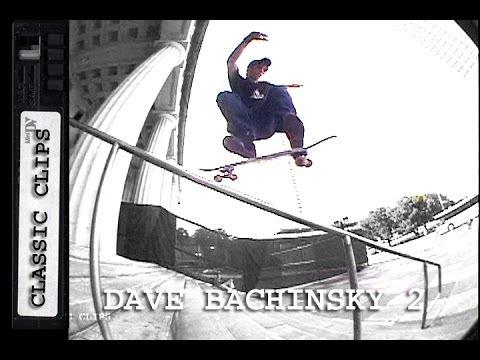 Dave Bachinsky Skateboarding Classic Clips #147 Part 2