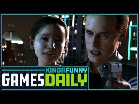 Quantic Dream Harassment Allegations - Kinda Funny Games Daily 01.15.18