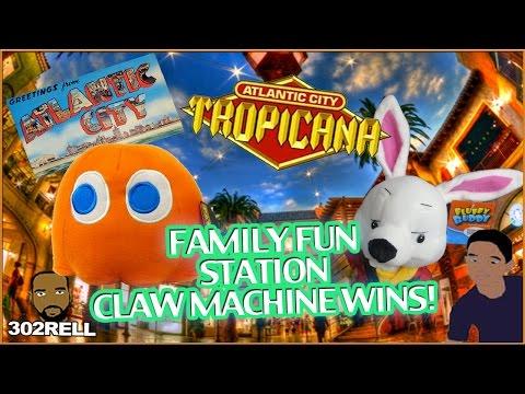 Tropicana Casino Resort Family Arcade Atlantic City New Jersey Boardwalk