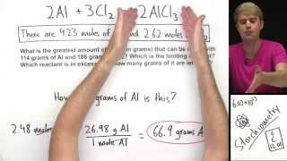 Limiting Reactant Practice Problem (Advanced)