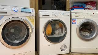 Waschtag Bosch und Siemens Waschmaschine