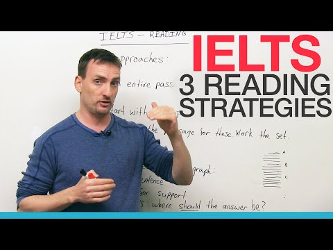 IELTS - 3 Reading Strategies