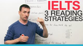 IELTS – 3 Reading Strategies