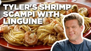 How To Make Tylers Shrimp Scampi With Linguine | Food Network