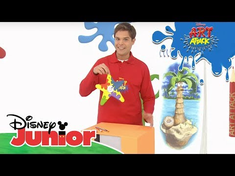 Art Attack Bastelclip #57: Türschilder | Disney Junior