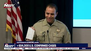 UPDATES & CONCERNS: Maricopa County Sheriff Penzone gives update on Covid-19