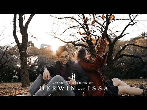 Japan Pre Wedding of Derwin and Issa