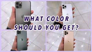 IPHONE 11 PRO MAX | Which COLOR is BEST for you? | A QUICK LOOK | Jen VLOG