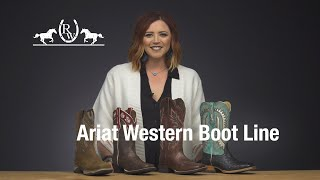 Ariat Review: Womens Western Fall 19 Boot Line
