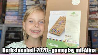 Galtoni (Gerhards Spiel und Design) - ab 5 Jahre - gameplay - Herbstneuheit 2020